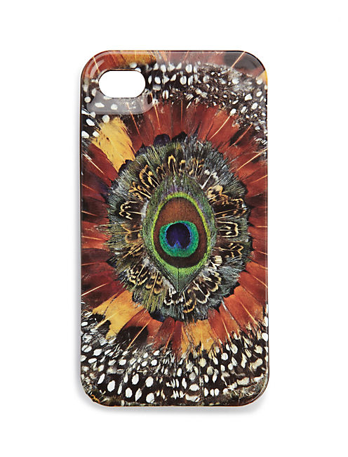 PHONE HARD CASE, FEATHER