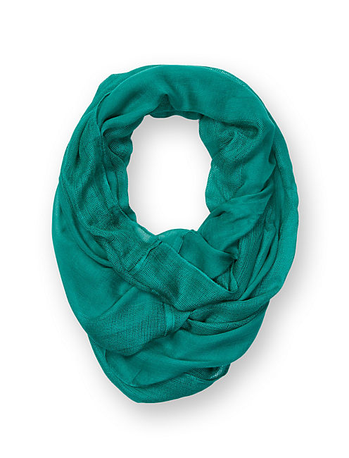 INFINITY SCARF, BRIGHT GREEN