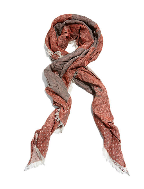 LIGHTWEIGHT JACQUARD, MEDIUM DARK RED