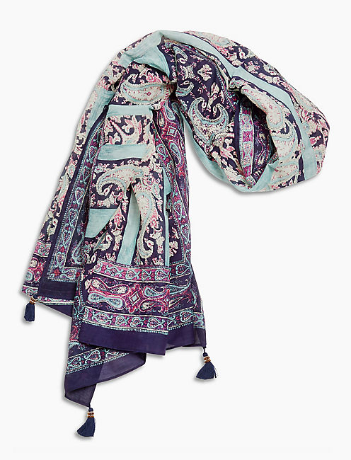 MOROCCAN TILE SCARF,
