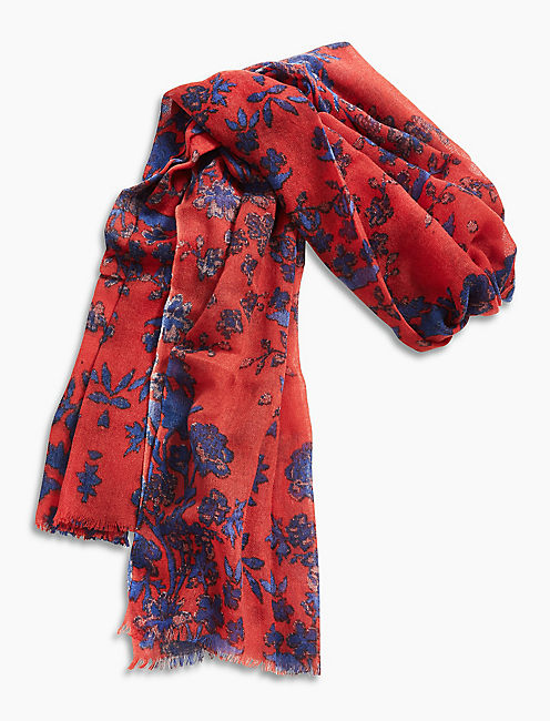 Lucky Floral Printed Scarf