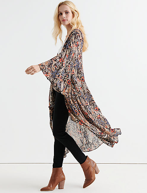 JUNGLE WATERFALL KIMONO,