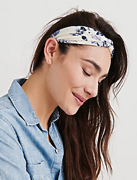 FLORAL DOT HEAD SCARF