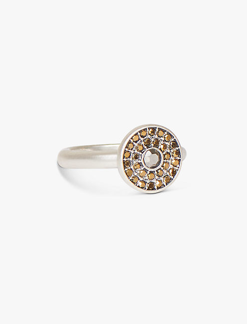 PAVE STATEMENT RING,