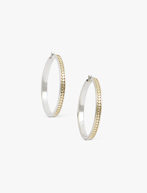 TWO TONE HOOPS,