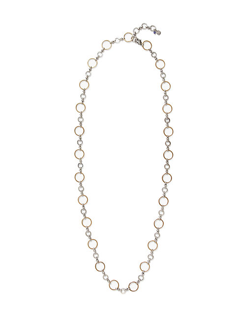 METAL STRAND NECKLACE, MULTI