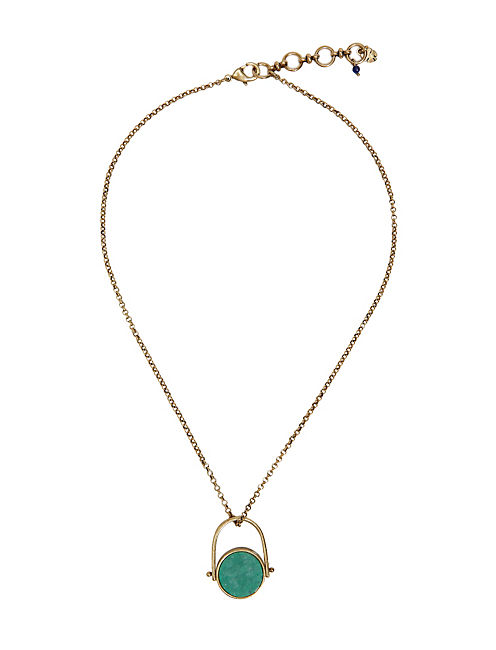 PAVE GOLD NECKLACE, 715 GOLD