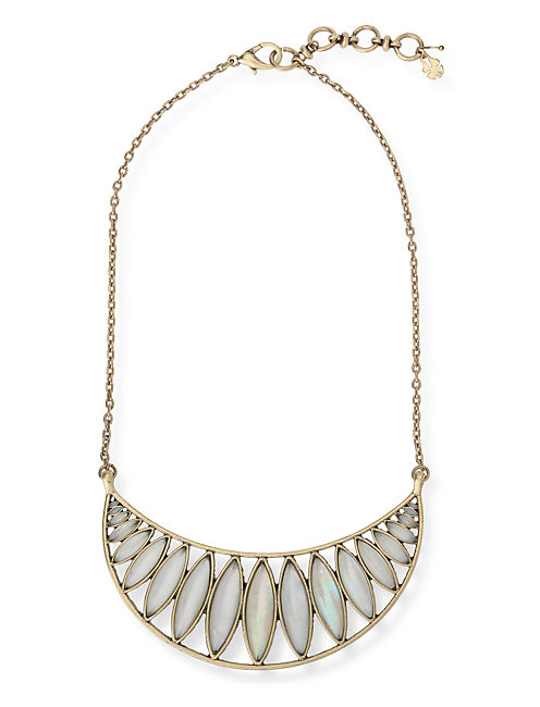 BIB NECKLACE, 715 GOLD