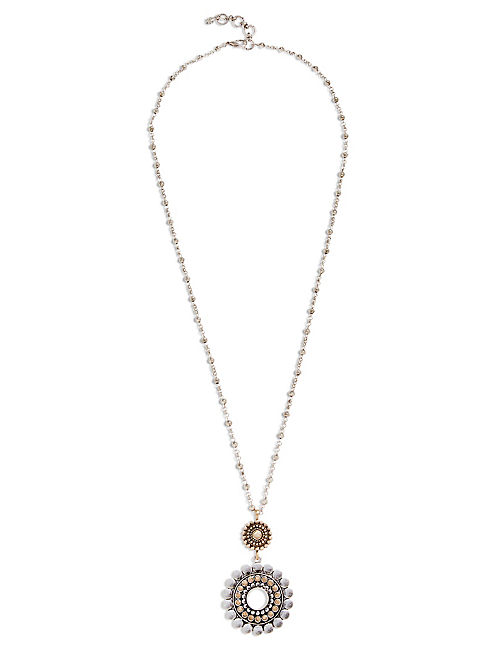 TWO TONE NECKLACE,