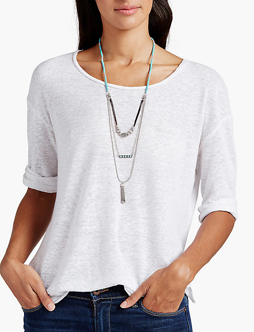 DOUBLE HITTER NECKLACE,