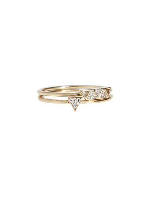 TRIANGLE RING STACK,