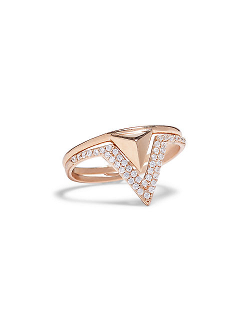 DELICATE TRIANGLE RING,