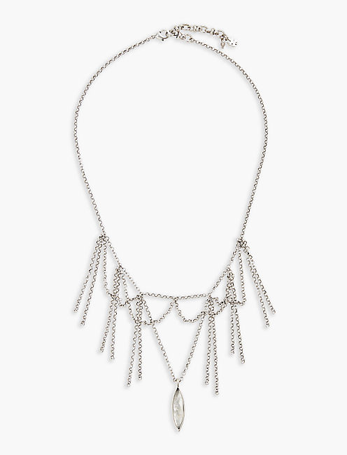 FRINGE COLLAR NECKLACE,