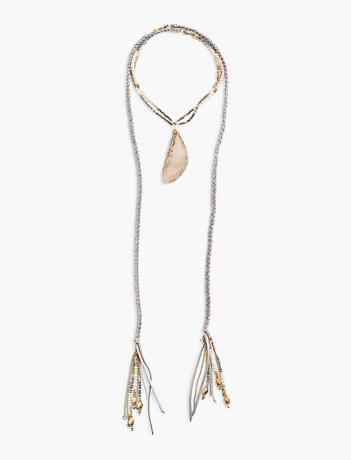 AGATE STATEMENT NECK,