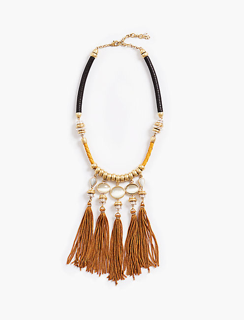 SILK CORD NECKLACE,