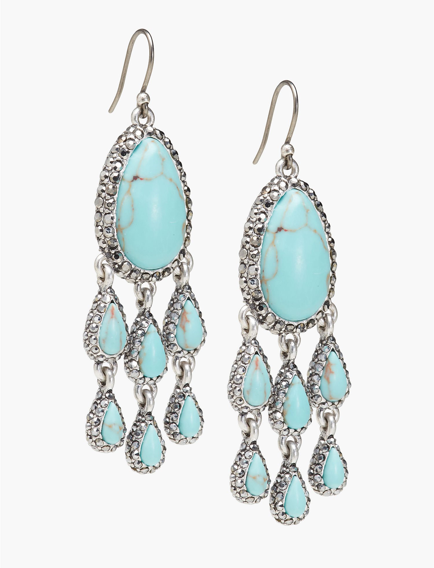 Turquoise Chandelier Earring | Lucky Brand