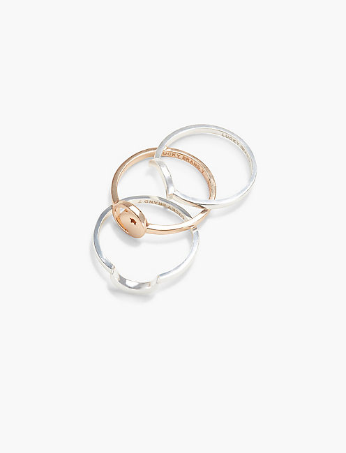 MOON STACK RING,