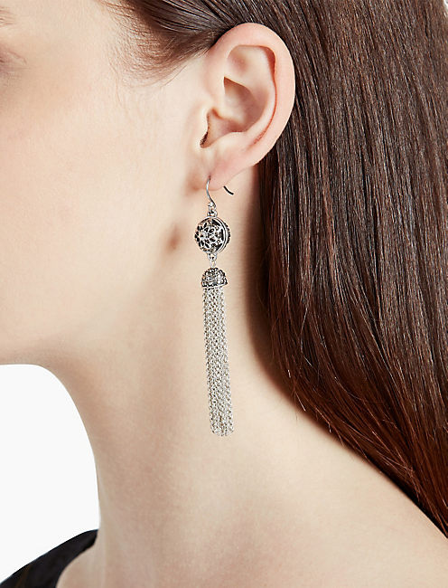 Lucky Marcasite Fringe Earring