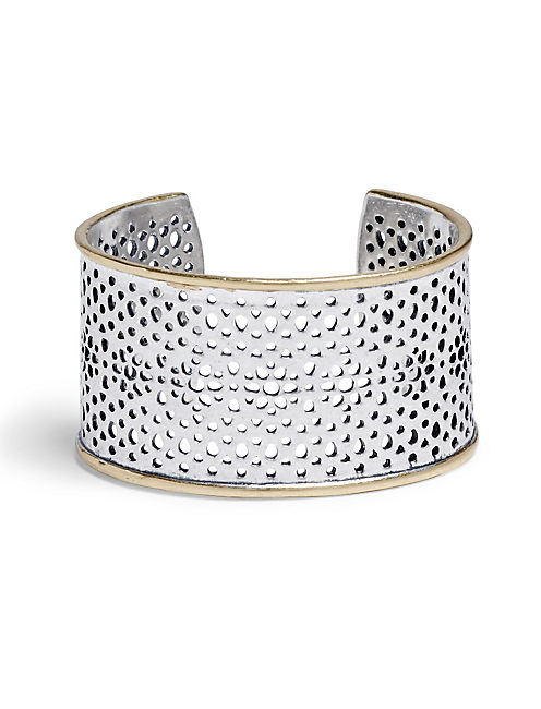 ABSTRACT OPEN WORK CUFF,