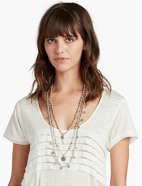 LUCKY LAYER NECKLACE,