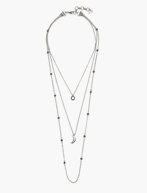 MOON LUCKY LAYER NECKLACE,