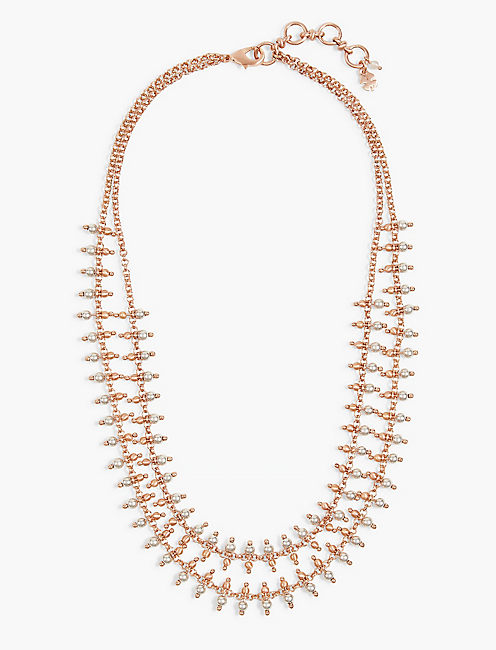 Stranded Collar Necklace,