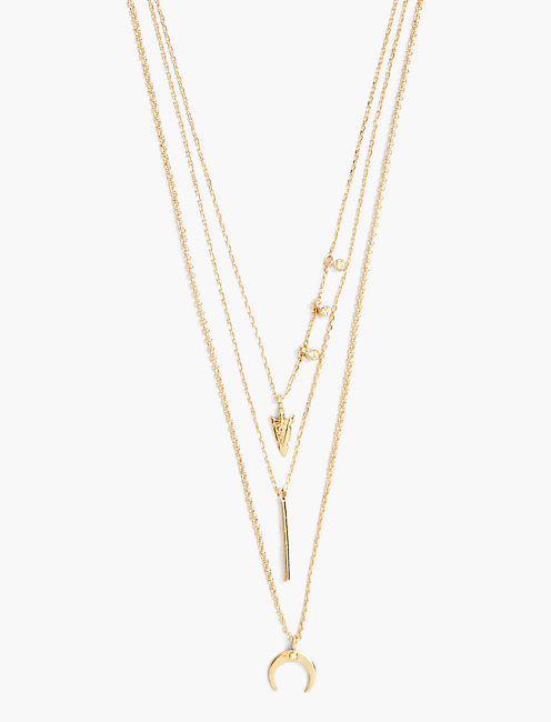 BOHEMIAN LAYER NECKLACE,