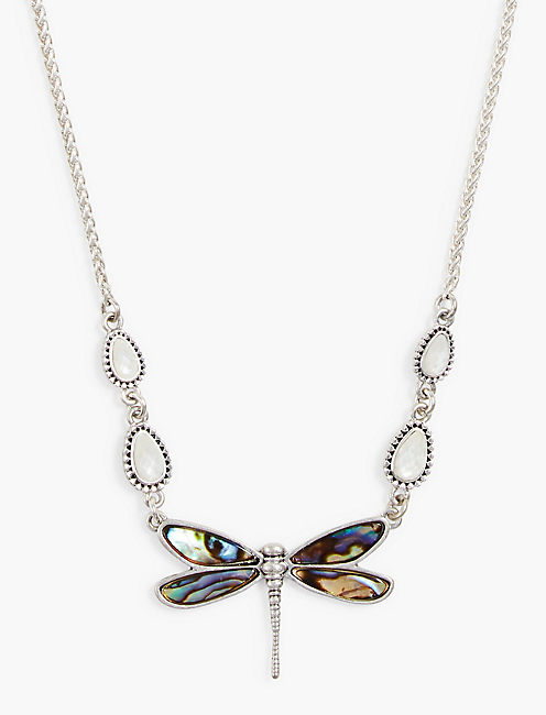 DRAGONFLY COLLAR NECKLACE,