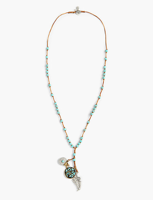 MOSAIC CHARM NECKLACE,
