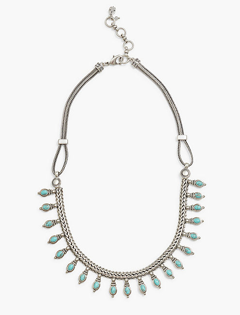 TURQUOISE COLLAR NECKLACE,