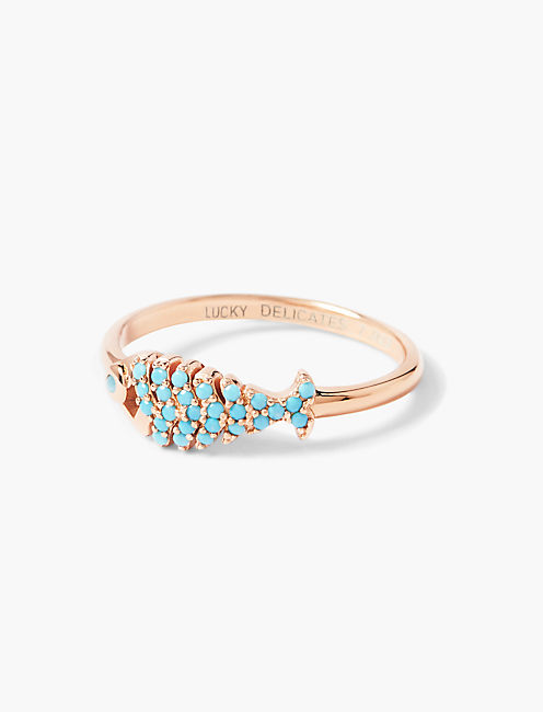 DELICATE FISH RING,