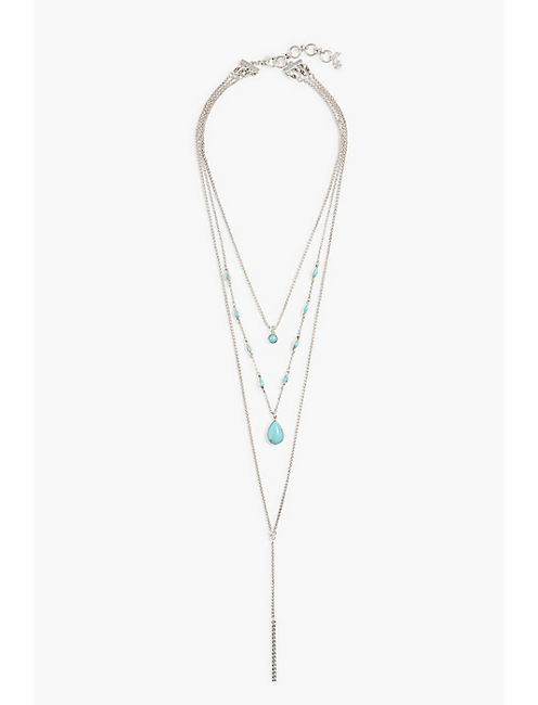 LAYERED TURQUOISE NECKLACE,