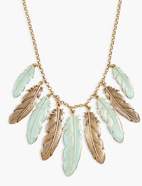 FEATHER COLLAR,