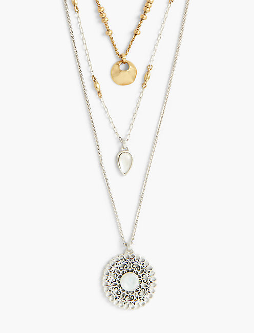 PEARL LAYER NECKLACE,