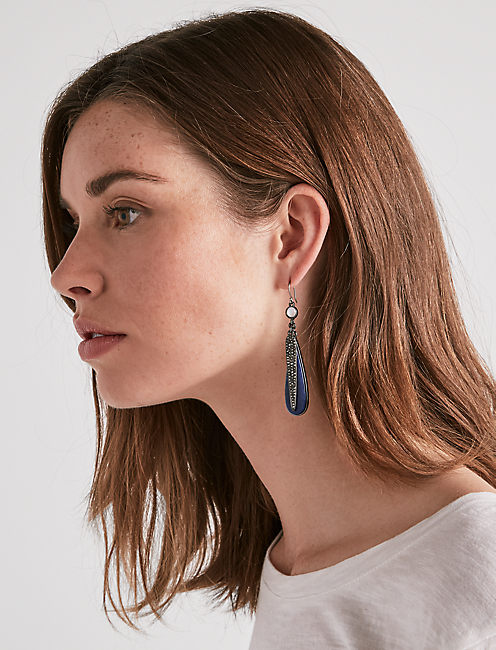 Lucky Pave Statement Earring