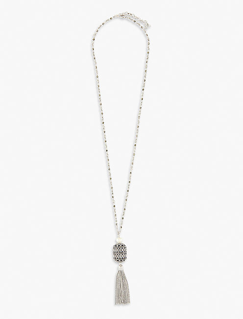 PEARL PENDANT NECKLACE,