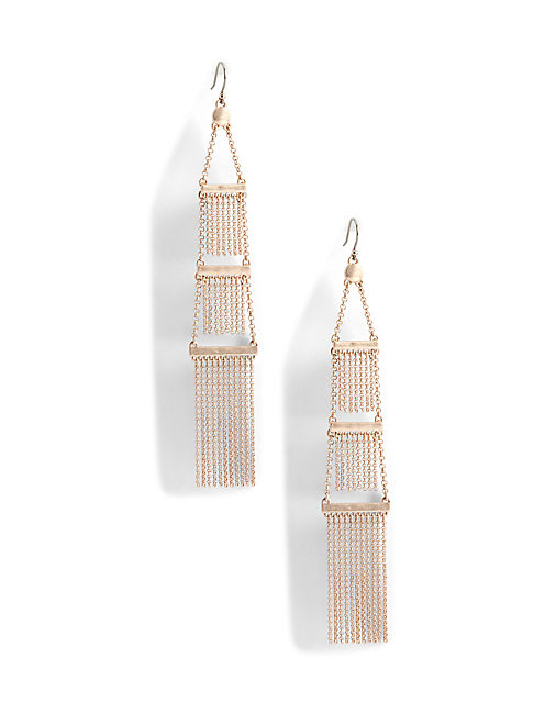 STATEMENT EARRING, ROSE GOLD