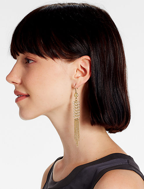 Lucky Chain Link Earring