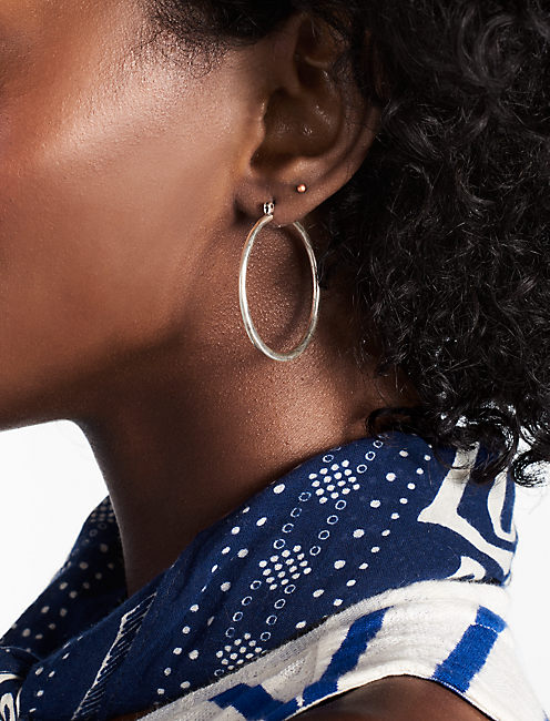 Lucky Basic Hoop Earring