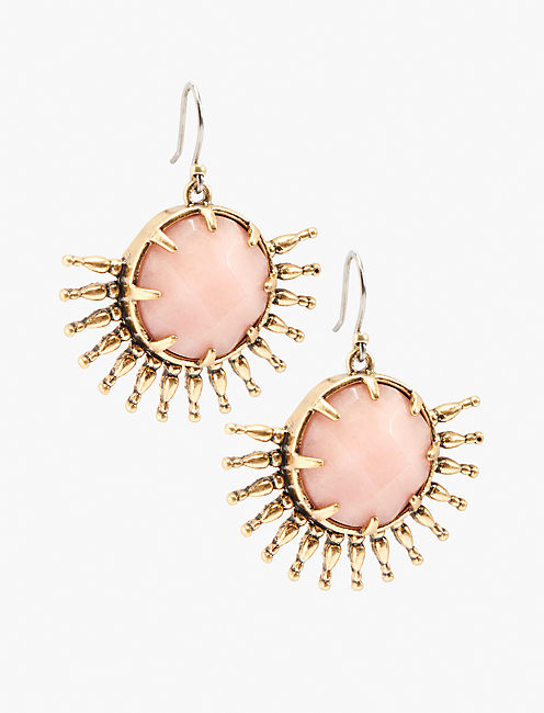 SUNBURST DROP EARRING,