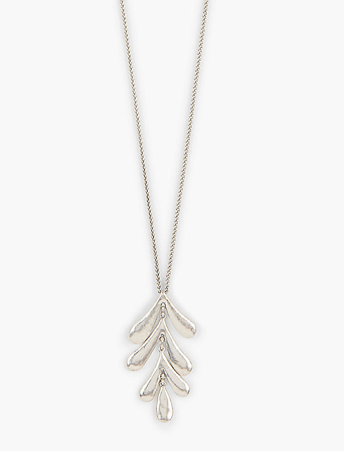 LEAF PENDANT NECKLACE,