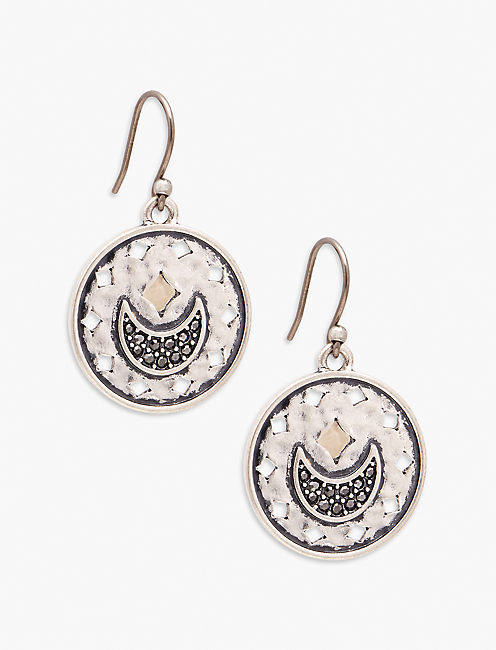 MOON DROP EARRINGS,