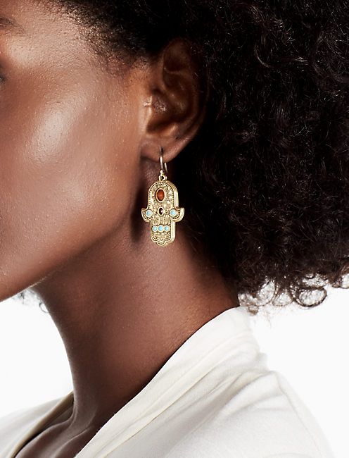 Lucky Hamsa Earring