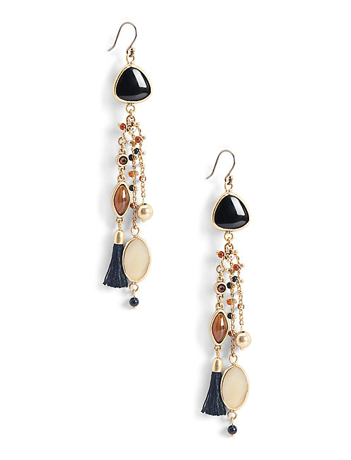 MIXED STATEMENT EARRING,