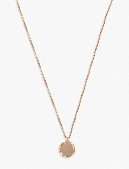 SMALL ARIES ZODIAC NECKLACE,