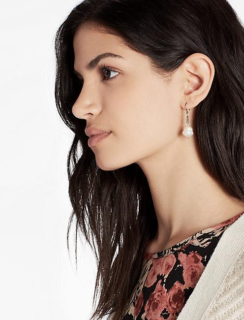 Lucky Pearl Drop Earring