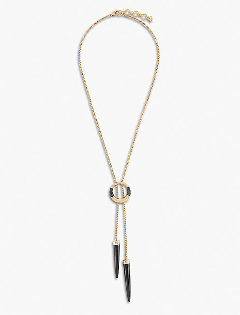 BLACK AND GOLD BOLO,