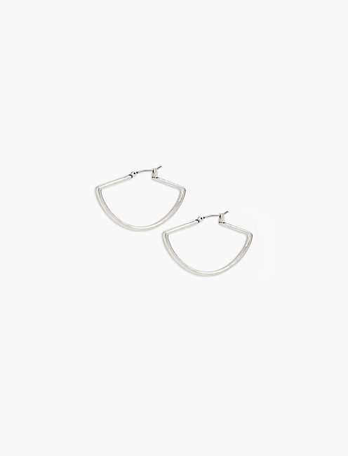 FAN HOOP EARRING,