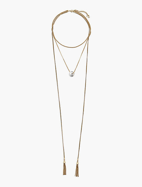 LAYER DROP LARIAT,