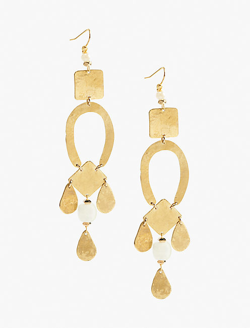 LINEAR STATEMENT EARRING,